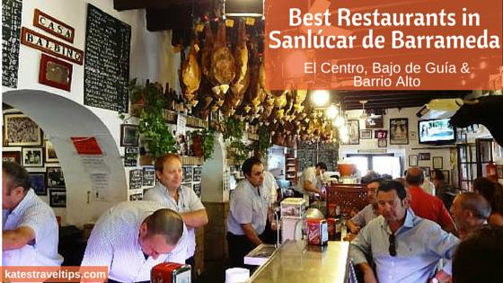 restaurants in sanlúcar de barrameda
