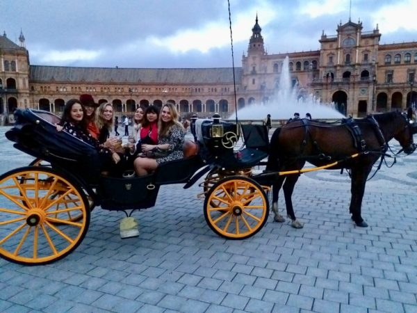 seville horse carriage rides