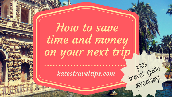 How to save time and money on your next trip + travel guide giveaway!