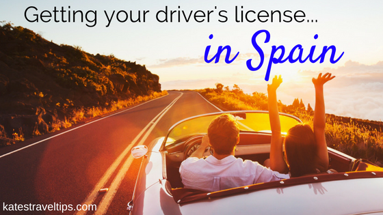 How to get your driver's license in Spain (with an automatic car)