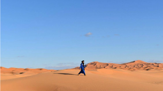 Visiting the Sahara Desert in Morocco