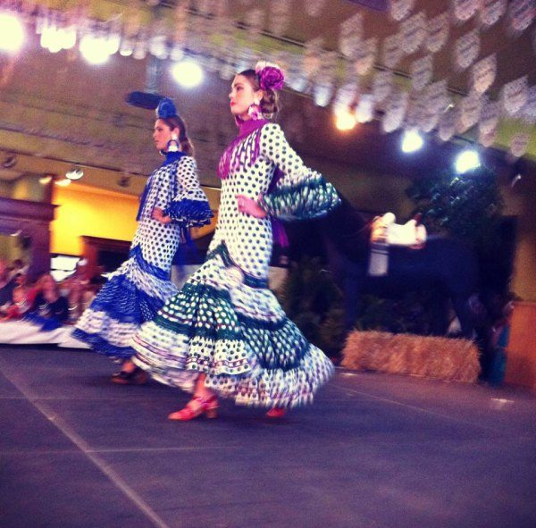 fashion-show flamenco