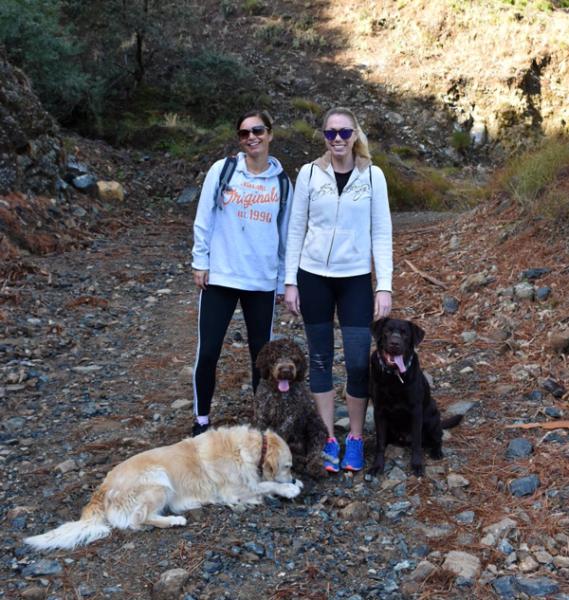 serranía de ronda with dogs