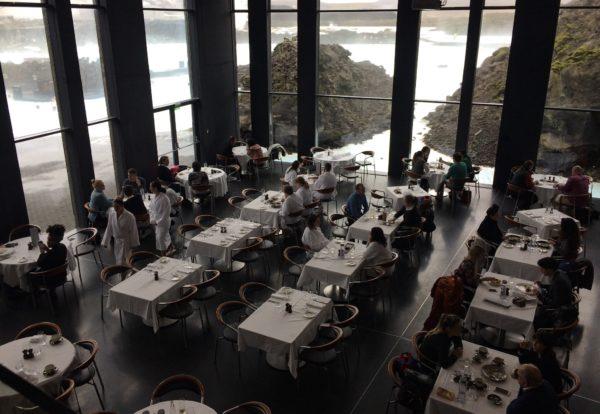 Lava Restaurant at the Blue Lagoon