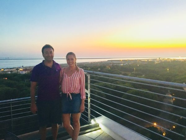 sailing spain to portugal mazagon hotel